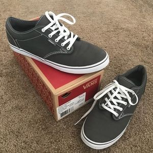 Vans Shoes - Women's Atwood Low Vans Grey - Size 9